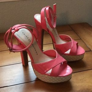 Chinese laundry coral heels